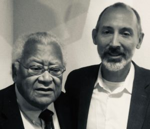 Andrew Fiala with James Lawson Oct 2019