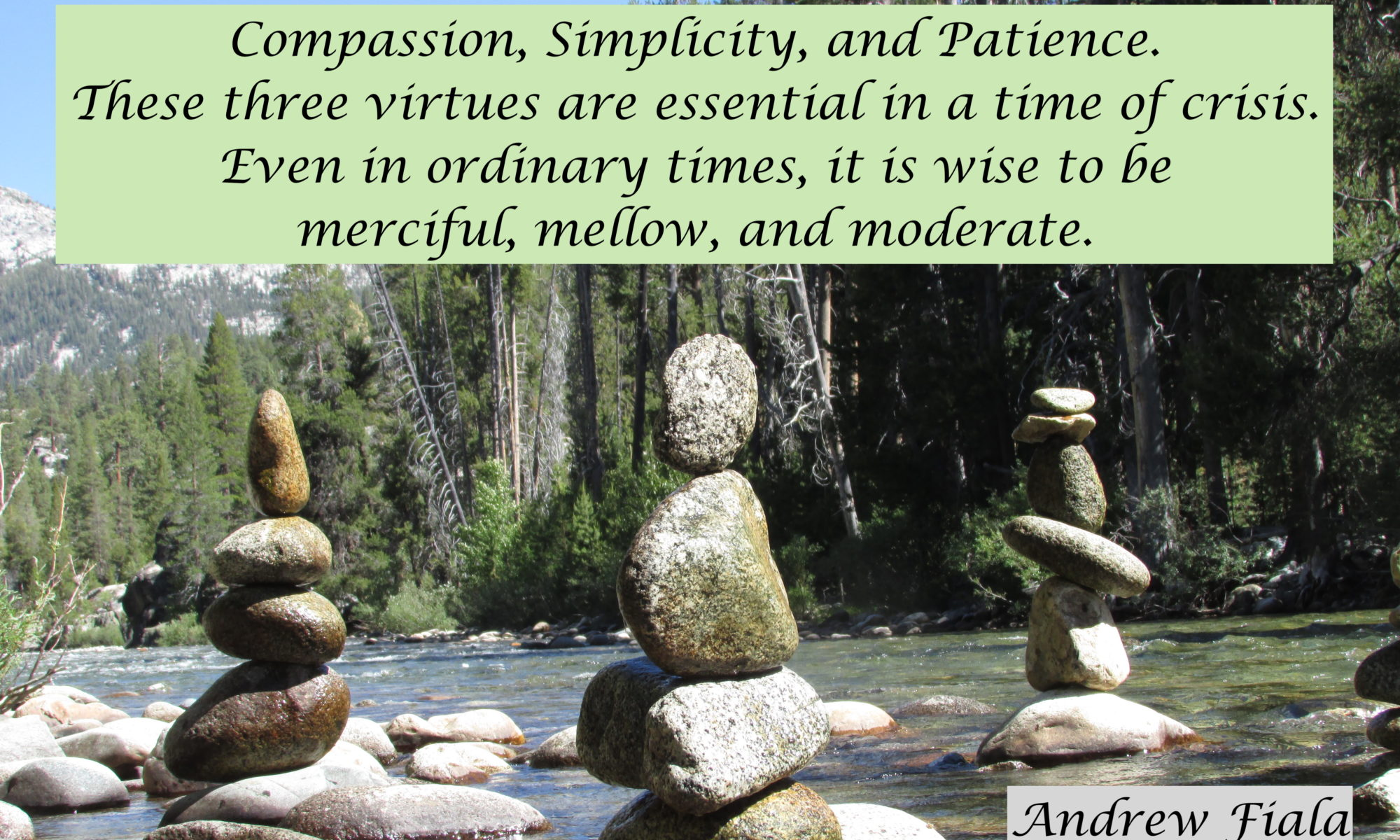 Tao Simplicity Compassion Patience